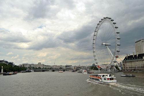 La noria más grande del mundo: El London Eye