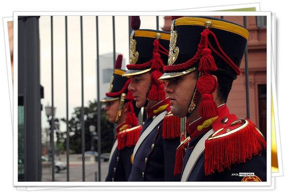 Cambios de guardia en el Río de La Plata