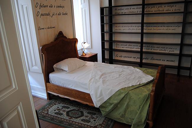 Visitar la casa de Fernando Pessoa en Lisboa