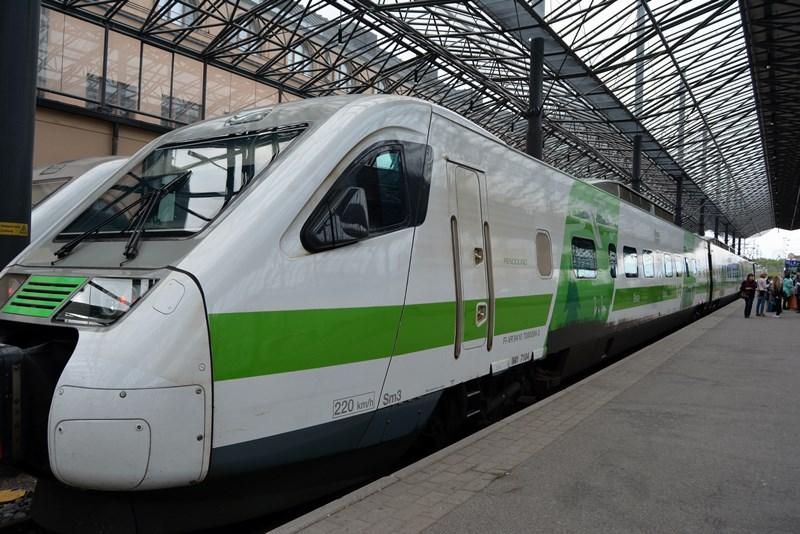 Viajar en tren por Finlandia