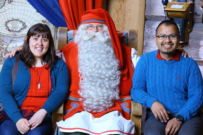 Visitando a Santa Claus en Finlandia