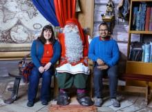 El día que conocimos a Santa Claus
