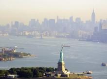 Volar en helicóptero sobre Nueva York