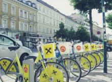 Bicicletas, la manera más barata de ver Viena