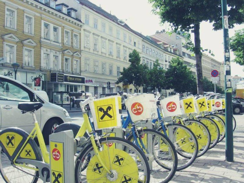 Alquilar bicicleta barata en Viena