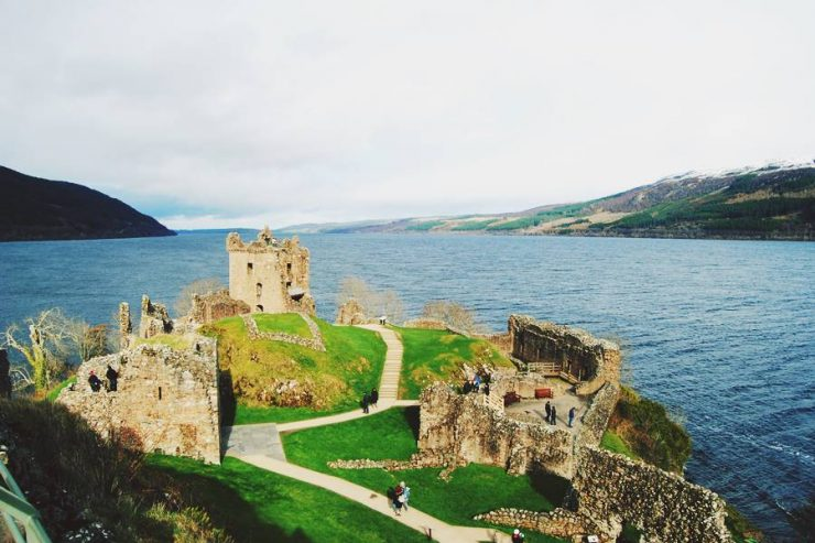 visitar el lago Ness y las Highlands