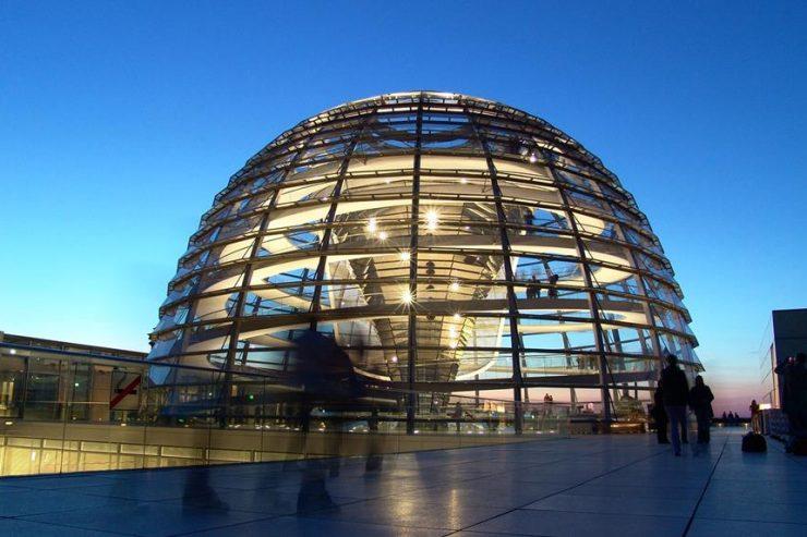Visitar el parlamento de Alemania