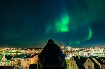 Cuando ver aurora boreales en islandia
