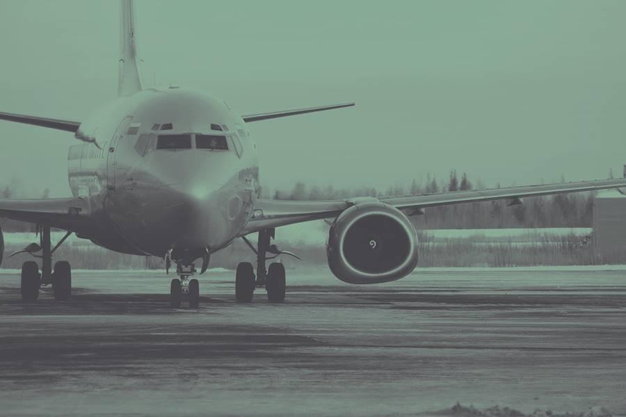 Retraso en avión