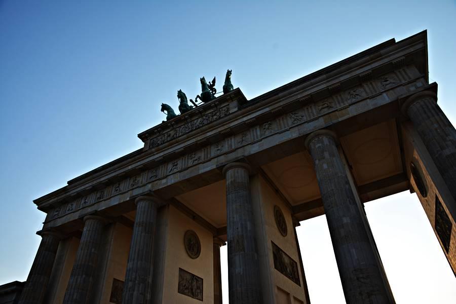 Visitar la puerta de Brandemburgo