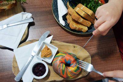 Comer en Dundee Rainbow Bagels