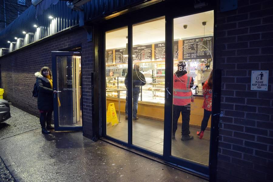 Clarks, la tradicional panadería que abre 24 horas en Dundee