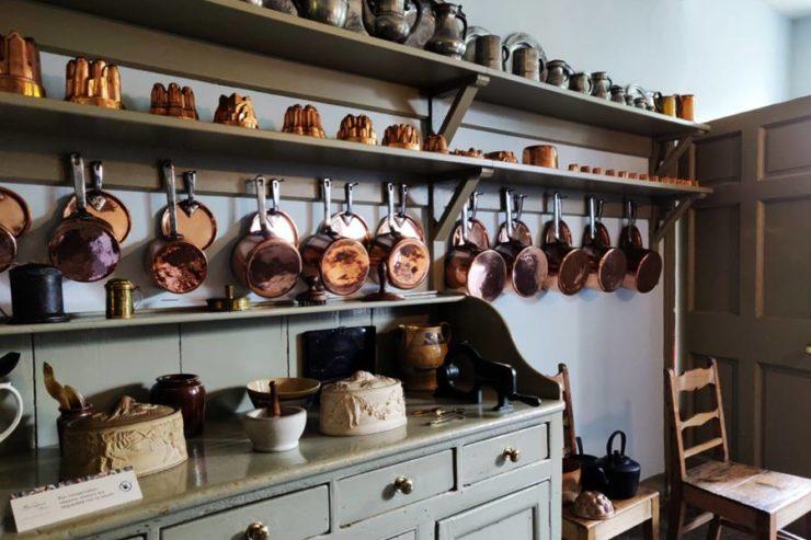 Visitar la Casa Georgiana de Edimburgo - Elementos de cocina