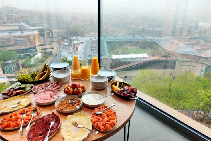 The Lookout - Desayunar en Edimburgo