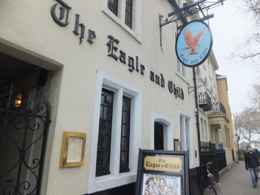The-Eagle-and-Child-in-Oxford