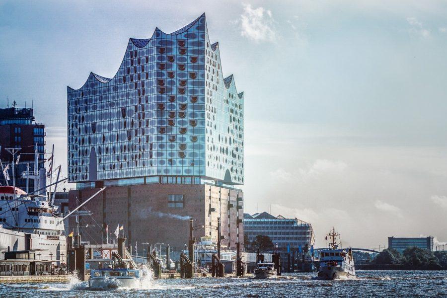 edificio de la filarmonica de Hamburgo
