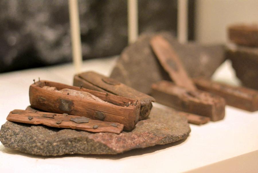 mini ataudes museo nacional de escocia
