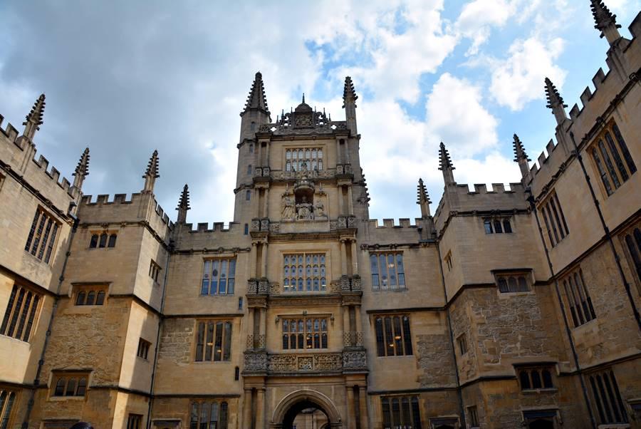 Biblioteca en Oxford