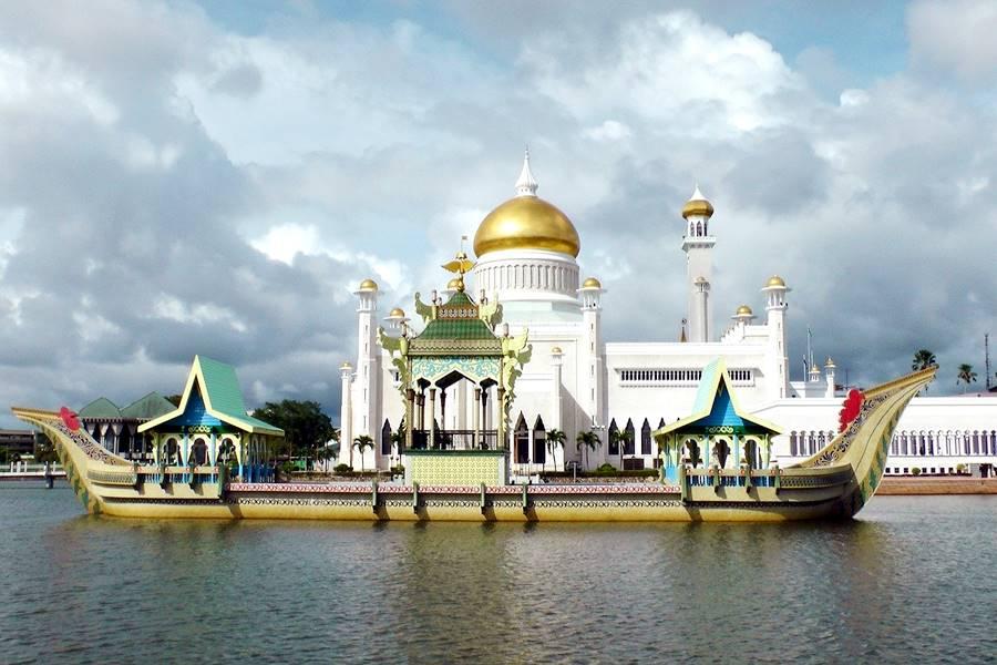 Palacio en Brunei.