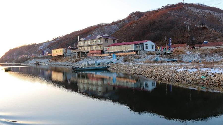 Río Yalu en Corea del Norte.