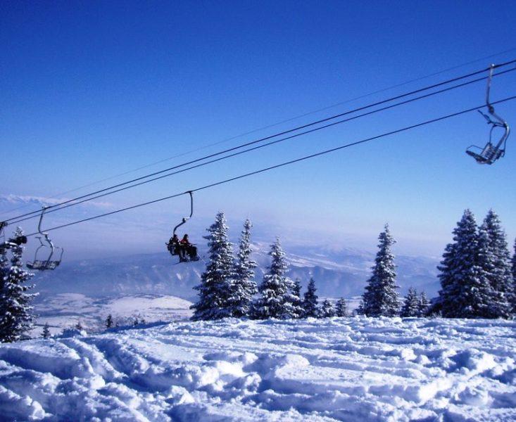 Pista de Esquí a las afueras de Sofía.