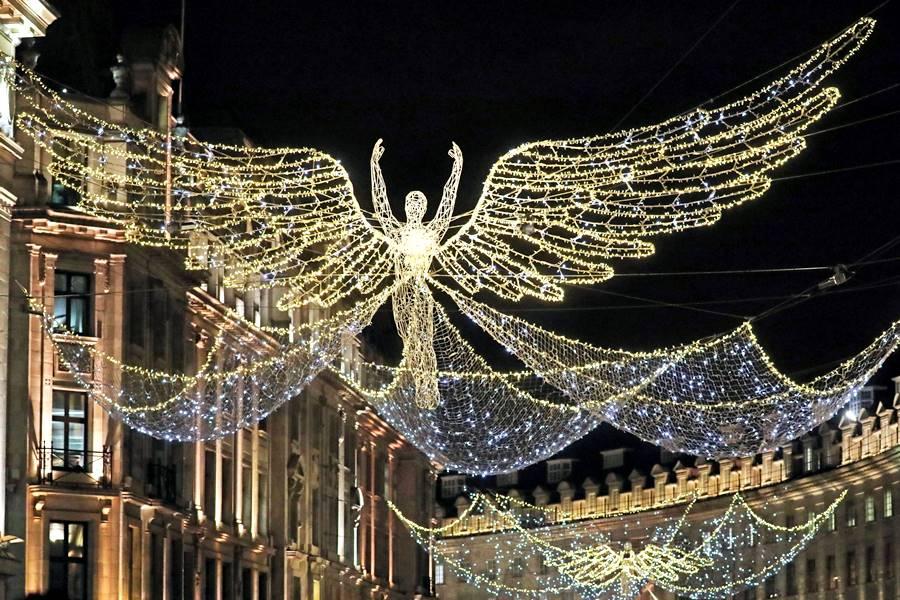 Londres en Navidad - Luces en las calles