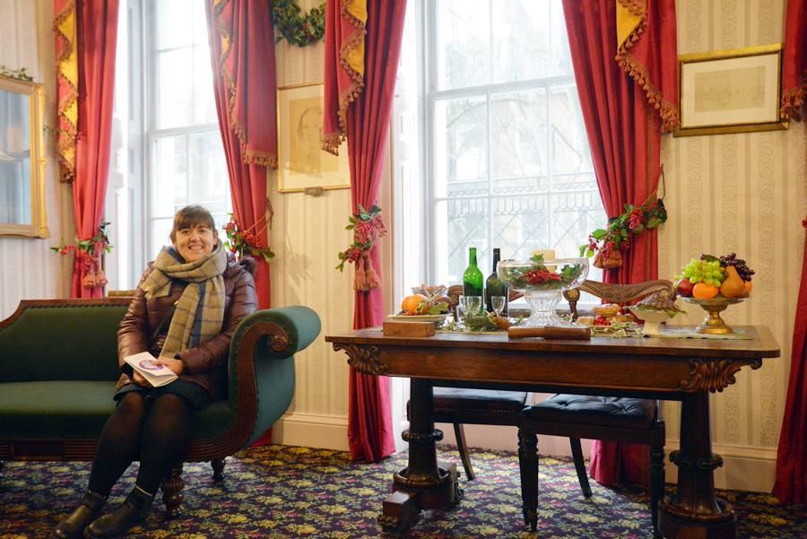Londres en Navidad - Casa museo de Dickens