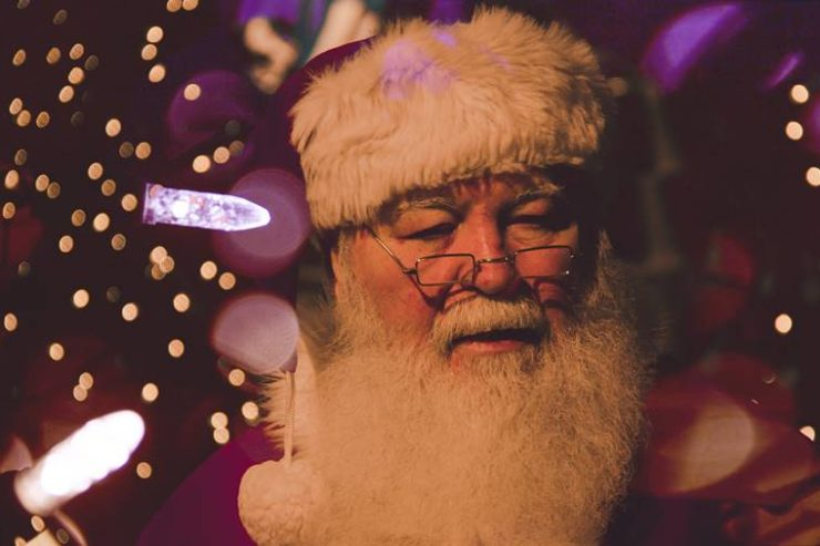 Rostro de Santa Claus