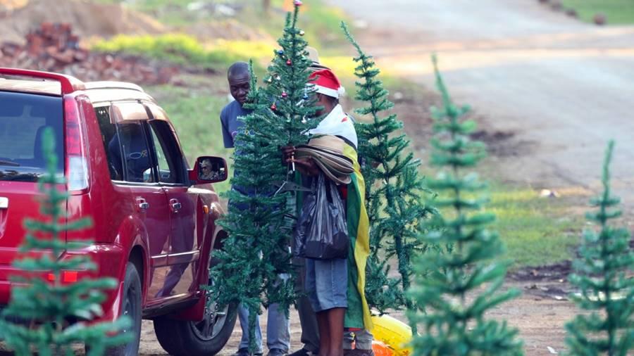 Navidad en Zimbabue