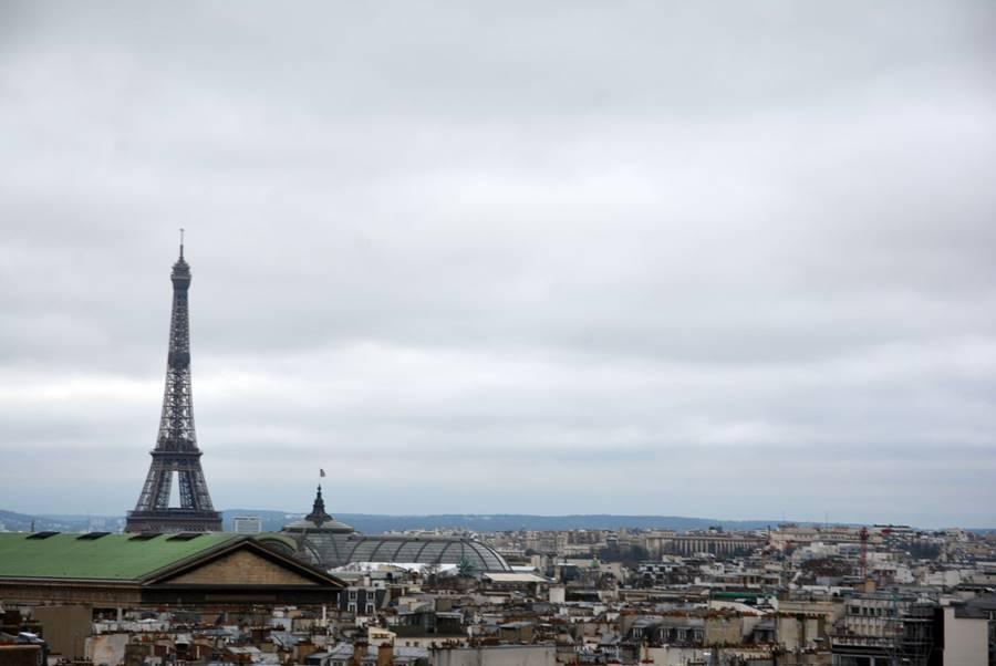 Qué hacer en París en invierno- Vista de la Torre Eiffel