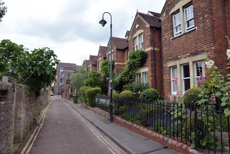 Calles en un barrio residencial de York.