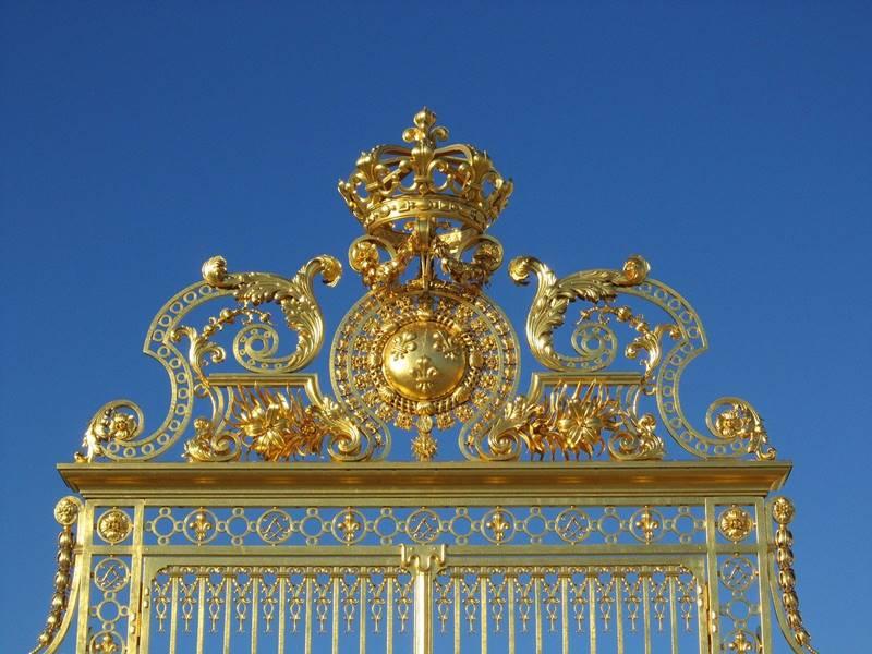 Puerta de entrada del palacio - Qué ver en París
