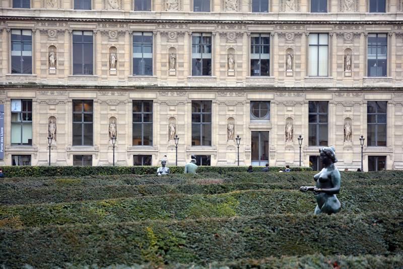 Escucltura en el Jardín de las Tullerías - Qué ver en París