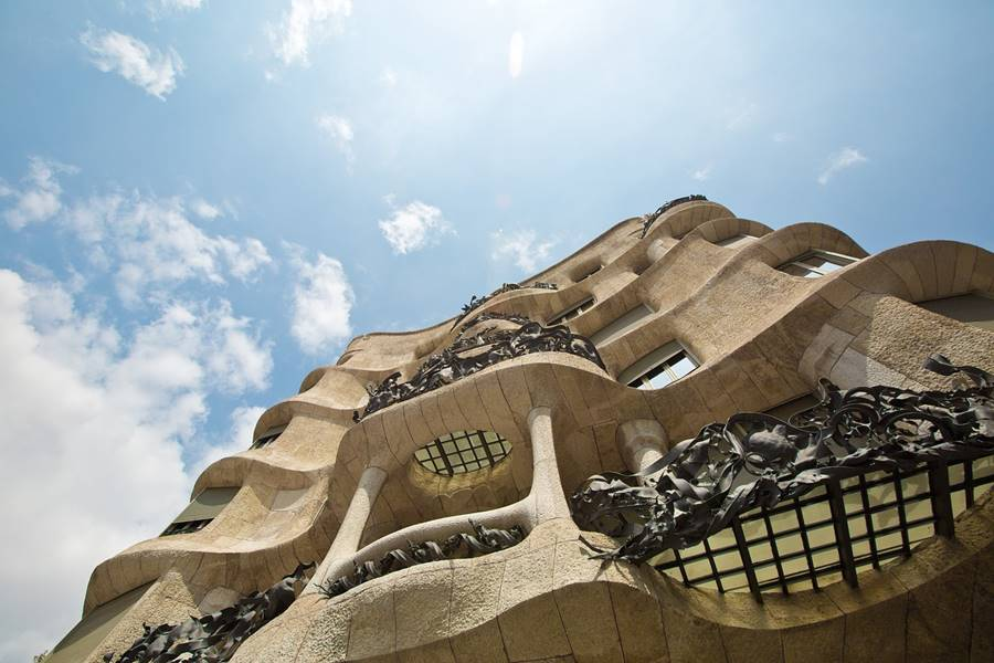 Vista de la arquitectura de Barcelona