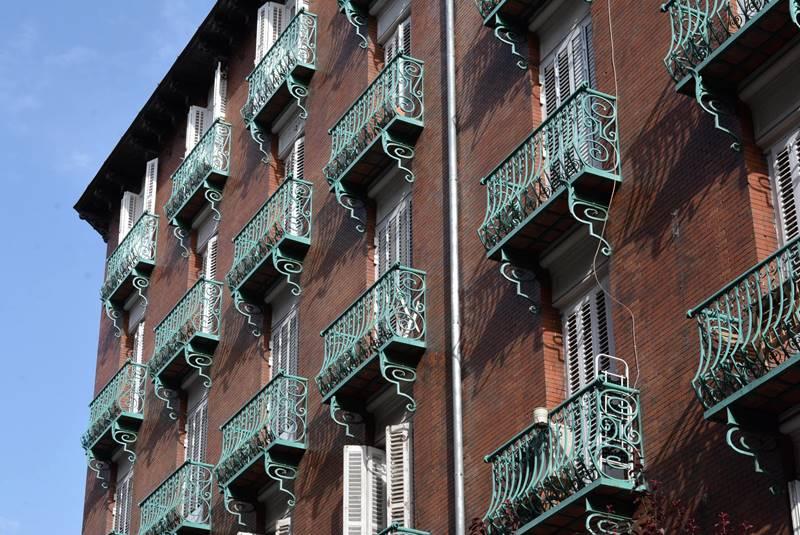 Balcones en Madrid