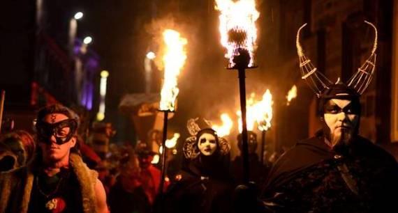 Halloween en Edimburgo.