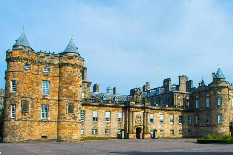 Holyrrod Palace en Edimburgo