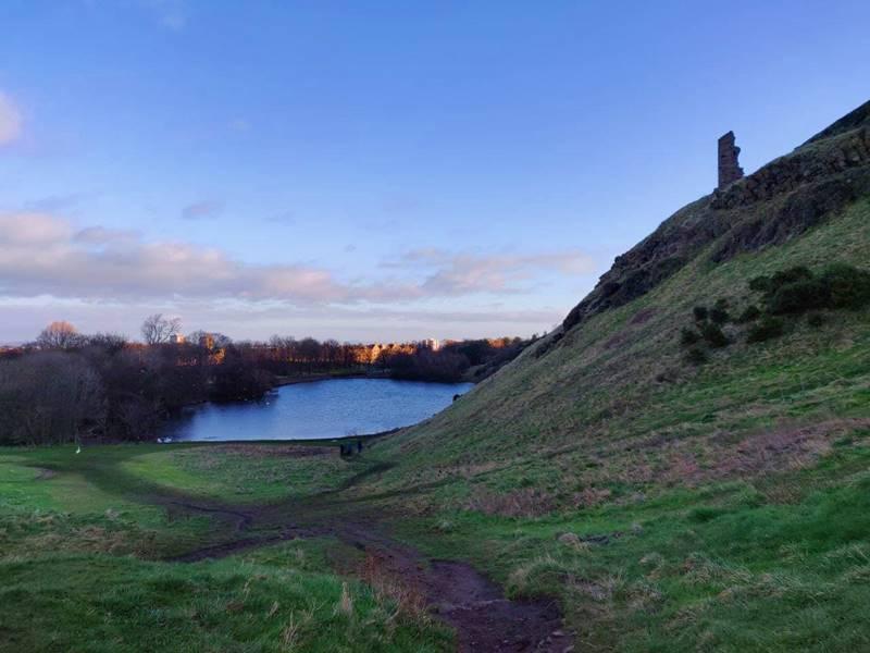 Qué ver en Edimburgo - Arthur's Seat.